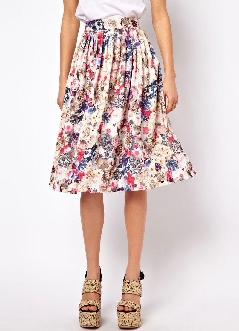 Модель летней юбки