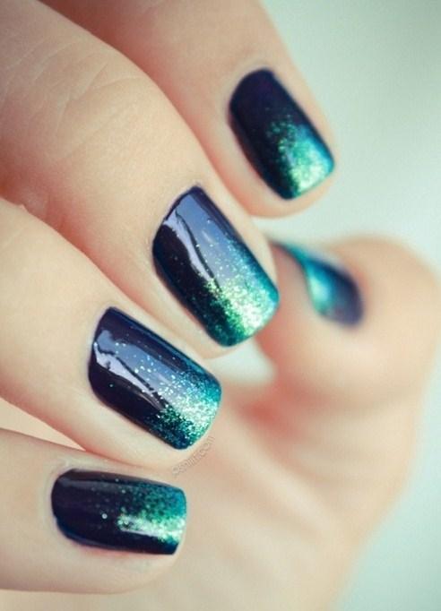 Летний модный дизайн ногтей 2013 эффект