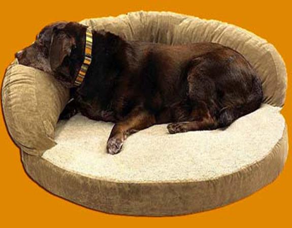 Лежак для крупных собак своими руками