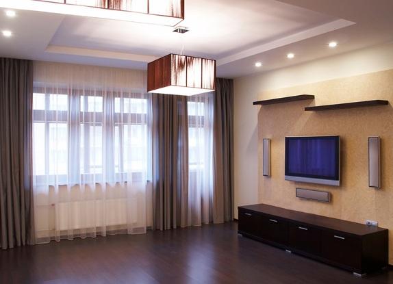 линолеум в гостиной интерьере фото