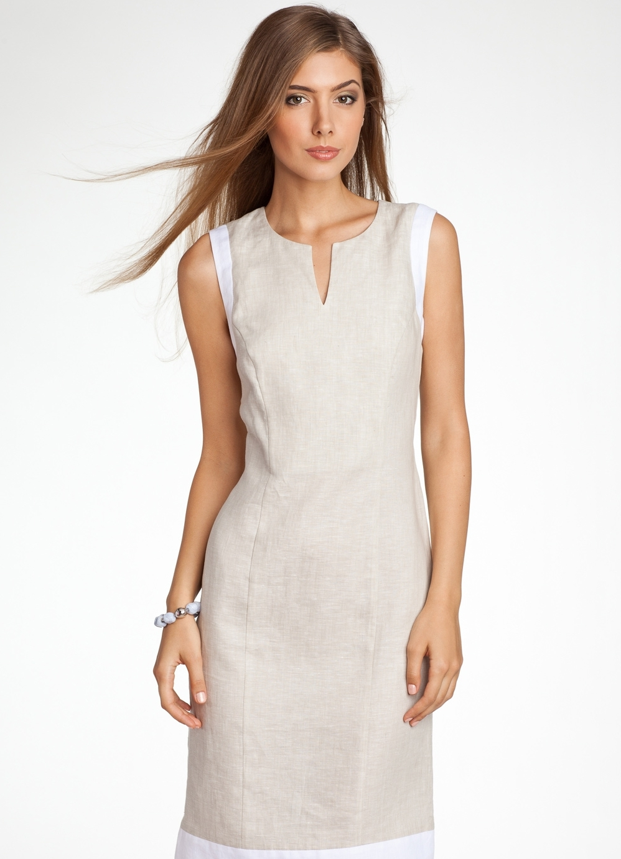Льняные платья