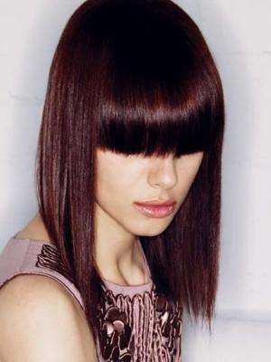 Цвет махагон волосы фото