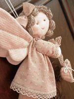 Ангел из ткани своими руками