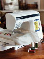 Ажурная машинная вышивка