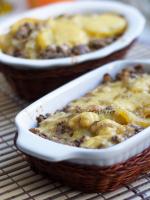 Блюда из фарша и картофеля