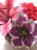 Цветы из фоамирана - мастер-класс