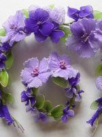 Цветы из капрона