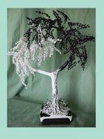 Дерево Инь-Янь из бисера