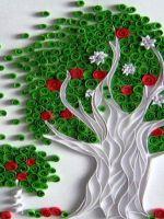 Дерево - квиллинг