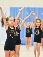 Дети в художественной гимнастике