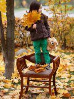 Детская осенняя фотосессия