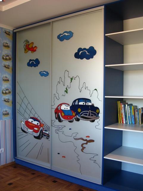 Детские шкафы купе