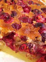 Дрожжевой пирог с брусникой – рецепт