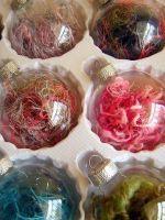 Елочные шары - необычные идеи!