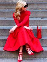 Фотосессия в длинном платье