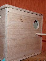 Гнездо для волнистых попугаев