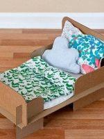 Как сделать кровать для куклы?