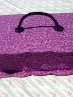 Как обклеить коробку тканью?