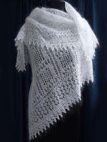 Как отбелить белый пуховый платок?