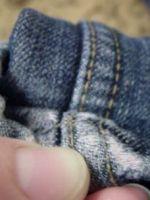 Как подшить джинсы?