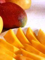 Как правильно есть манго?