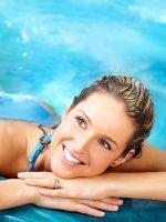 Упражнения для спины в бассейне