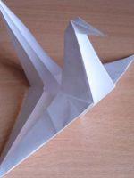 Как сделать голубя из бумаги?