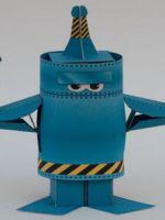 Как сделать робота из бумаги?