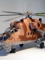 Как сделать из бумаги вертолет?