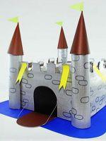 Как сделать из бумаги замок?