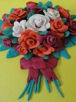 Как сделать из пластилина розу?