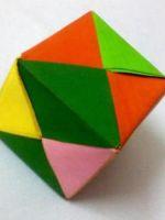 Как сделать куб из бумаги?