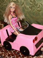 Как сделать машину для Барби?