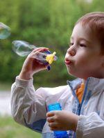 Как сделать мыльные пузыри?