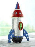 Как сделать ракету из бутылки?
