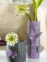 Как сделать вазу из бумаги?