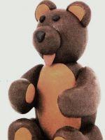 Как слепить медведя из пластилина?