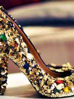 Как украсить туфли?