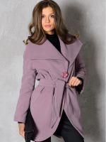 Как завязать пояс на пальто?