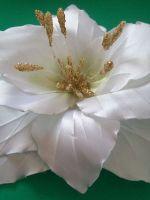 Мастер класс лилии из атласных лент - Jtl-spb.ru