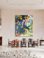 Картины абстракция для интерьера
