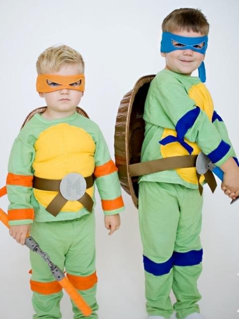 Новогодние костюмы черепашки ниндзя своими руками