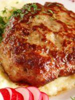 Жареная говядина с луком