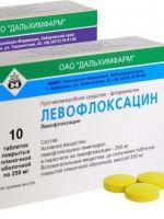 Левофлоксацин – аналоги