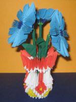 Модульное оригами - цветы