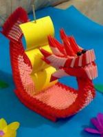 Модульное оригами - корабль