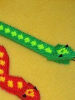Модульное оригами змея