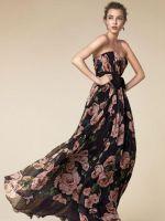 Платье «цветочный принт»