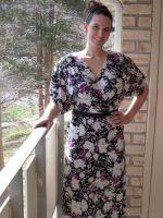 Платье-кимоно своими руками
