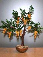 Деревья из бисера: мастер-класс